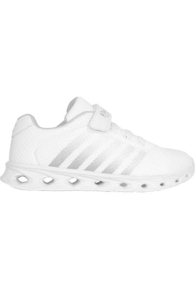 Mp 201-3049FT Beyaz Cırtlı Yazlık Erkek - Kız Çocuk Spor Ayakkabı 31