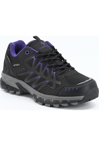 Hammerjack Kadın Outdoor Ayakkabı Pablo G Siyah-Mor 20W04PABLOG