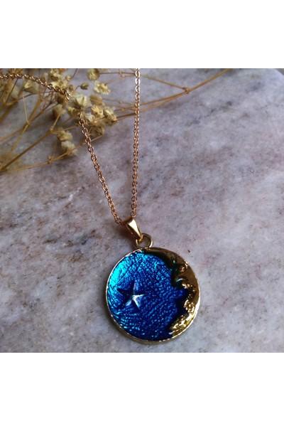 Alışveriş Burada Moon Star Kolye