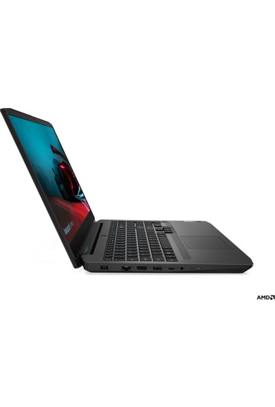 """Lenovo IdeaPad Gaming 3 15ARH05 AMD Ryzen 5 4600H 8GB 1TB + 256GB SSD GTX1650 Freedos 15.6"""" FHD Taşınabilir Bilgisayar 82EY00D1TX"""