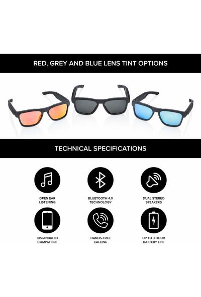 Inventiv Kablosuz Bluetooth Sesli Polarize Güneş Gözlüğü (Yurt Dışından)