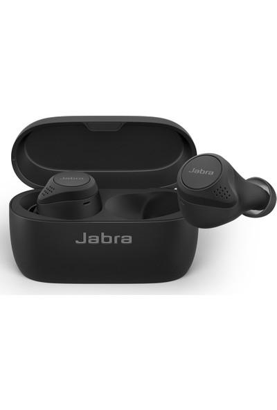 Jabra Elite 75T Aktif Gürültü Önleyici Bluetooth Kulaklıklar ( Wireless Şarj ) - Siyah
