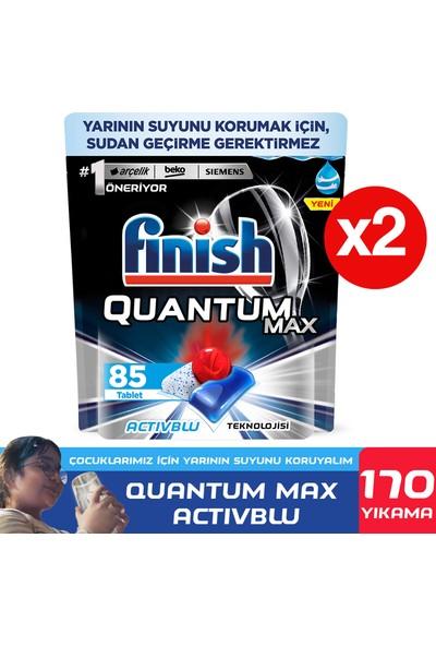 Finish Quantum Max Bulaşık Makinesi Deterjanı 170 Kapsül 85 X 2