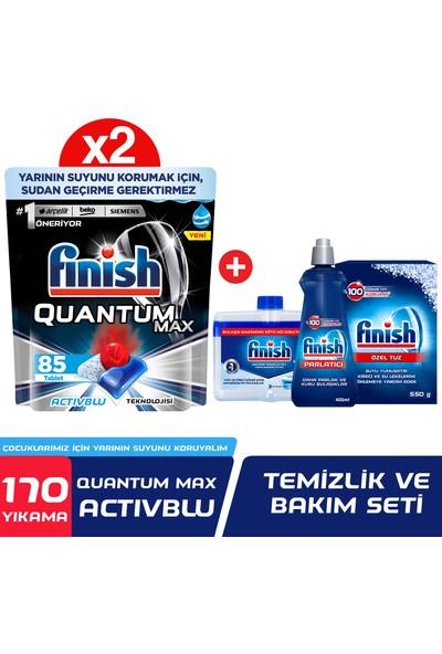 Finish Quantum Max 170 Bulaşık Deterjanı + Temizlik & Bakım Seti