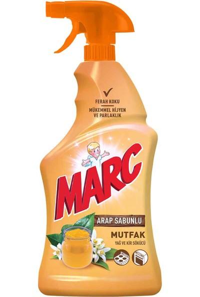 Marc Mutfak Yüzey Temizleyici Sprey Arap Sabunlu 750 ml
