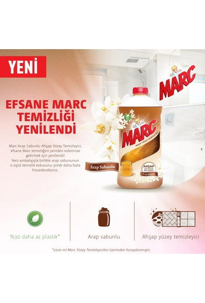 Marc Yüzey Temizleyici Ahşap 2500 ml