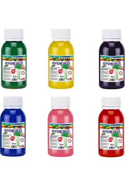 Nova Color 100 Gram Slime Yapıştırıcı 6 Lı Set (NC-709)