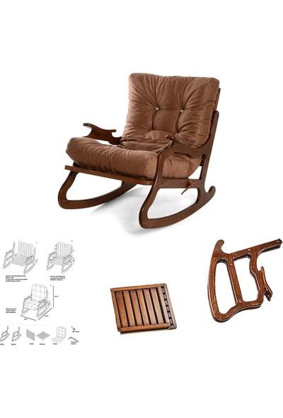 Hoka Salanan Sandalye Dinlenme Koltuğu Baba Koltuğu Tv Koltuğu