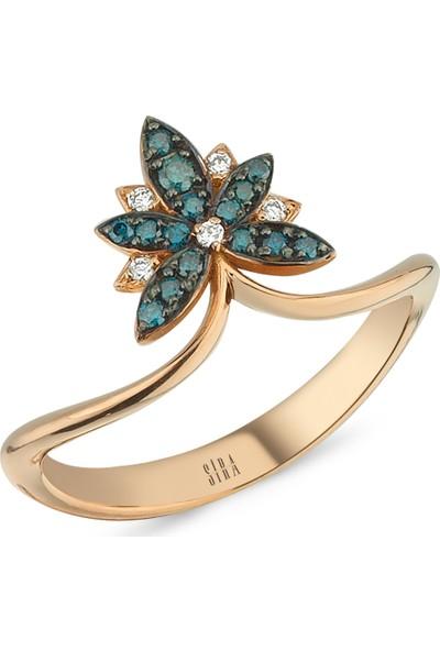 Sira Mücevherat Palmiye Yüzük - Rose