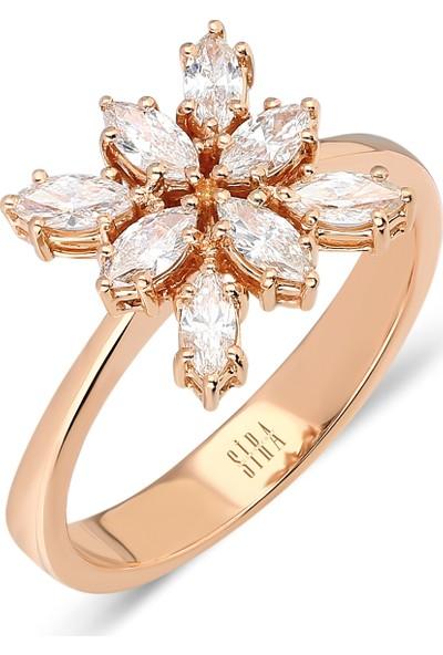 Sira Mücevherat Marquise Yüzük - Rose