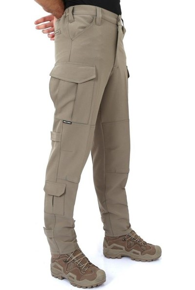Sword Single Sword Likralı Bej Tactical Kargo Pantolon