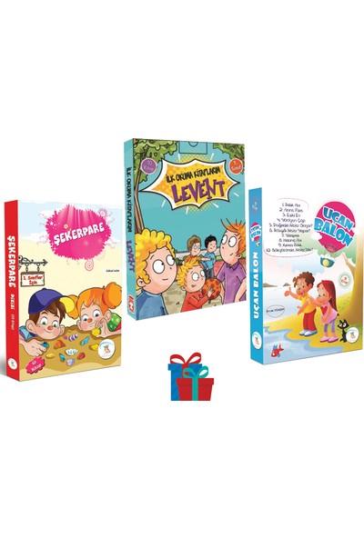 1. Sınıf Şekerpare - Uçan Balon Hikaye Seti - Ilk Okuma Kitaplarım Levent 1. Sınıf Hikaye