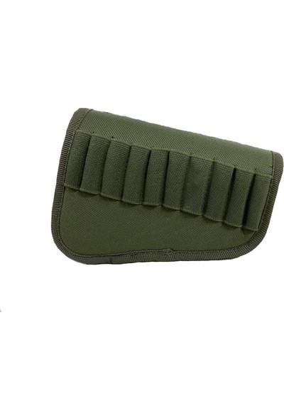 Allhunting Tüfek Dipçik Kılıfı 10 Mermi Kapasiteli 9mm