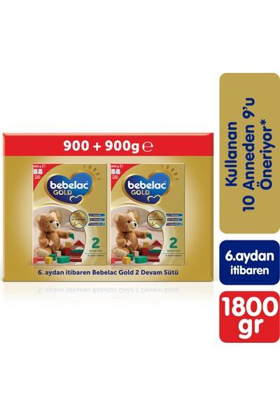 Bebelac Gold 2 Devam Sütü 1800 gr (900 gr + 900 gr) 6-12 Ay