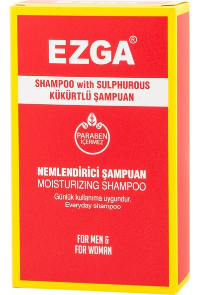 Ezga Kükürtlü Şampuan 300 ml