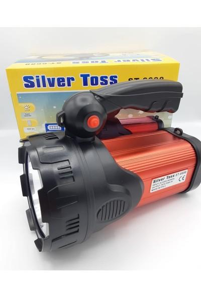 Silver Toss ST-6688 Şarj Edilebilir El Feneri (Trendtahtakale)
