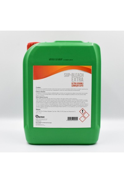Supclean Sup-Bleach Extra Ultra Kıvamlı Çamaşır Suyu (5 Kg)