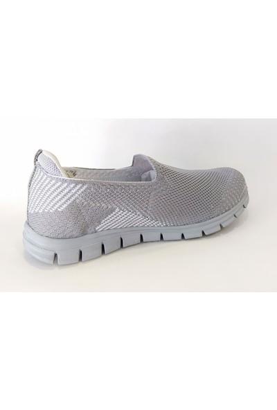 ScooterGri Kadın Sneaker Ayakkabı Z5481TG