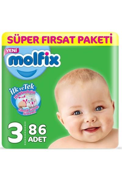 Molfix Süper Fırsat Paketi Midi 86LI