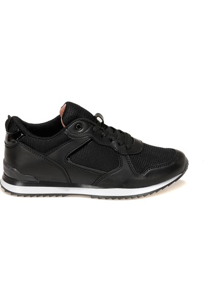 Torex Strada W 1fx Siyah Kadın Sneaker Ayakkabı