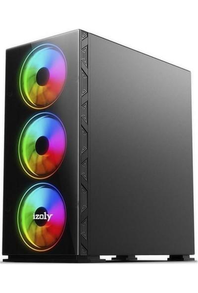 Izoly Titan I Intel Core i3 10100F 8GB 256 500GB RX550 Masaüstü Bİlgisayar