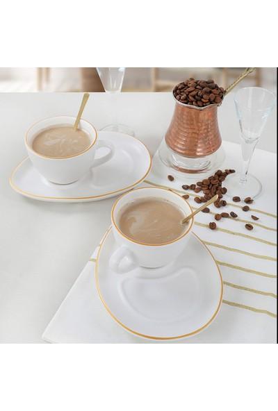 Keramika Gold Line Kahve Sunum Seti