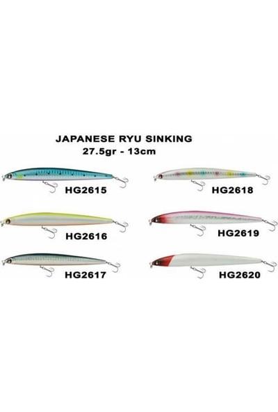Japanese Effe Japanese Ryu Suni Yem Maket Balık 130MM 2619