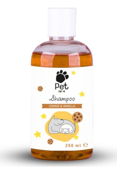 Pet Love Eco Şampuan 250ML Kurabiye & Vanilya