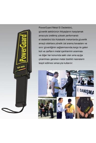 Power Guard PG-900 El Tipi Metal Dedektörü