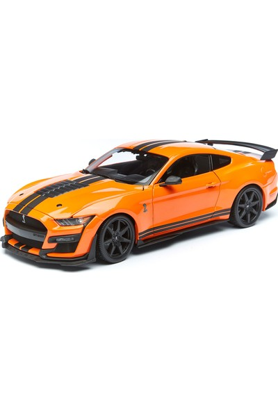 Maisto 1/18 2020 Ford Mustang Shelby GT500 Model Araba Turuncu