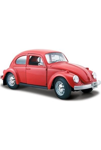 Maisto 1/24 Volkswagen Beetle Kırmızı