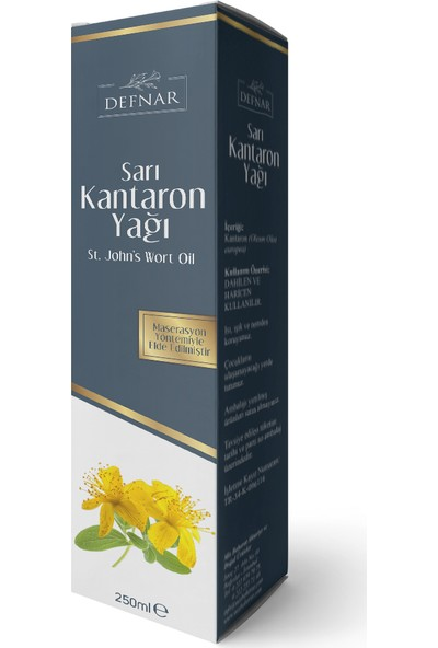 Defnar Sarı Kantaron Yağı 250 ml