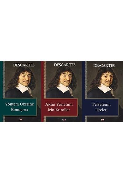 Rene Descartes 3 Kitap Set (Yöntem Üzerine Konuşma, Aklın Yönetimi Için Kurallar, Felsefenin Ilkeleri)