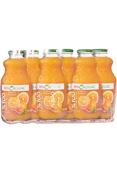 Benorganic Portakal Suyu 6 x 1 Lt