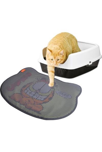 Garfıeld 10L Naturel Doğal Kokusuz Bentonit Kedi Kumu + Taşıma Çantası ve Paspas
