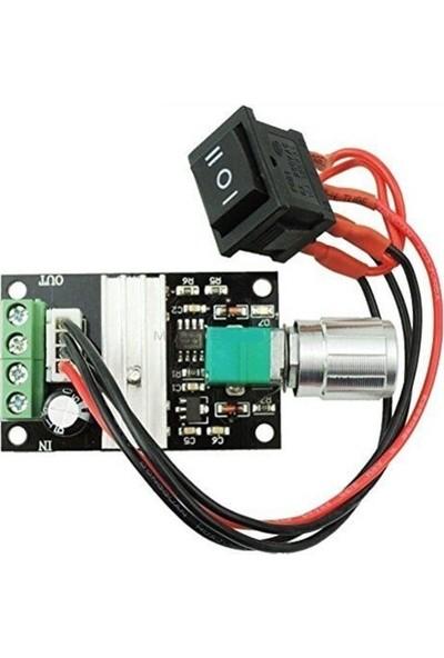 Myrobotech 6V 12V 24V 28V 3A 80W Dc Motor Hız Kontrolörü (Pwm) Anahtarlı