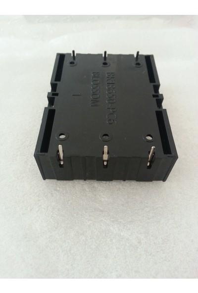 Myrobotech 18650 Li-On Piller Için 3 Lü Pil Yuvası