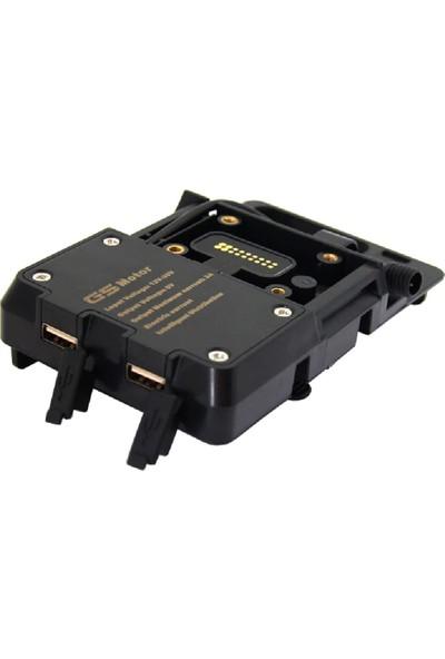 Knmaster TT-1200U Bmw R 1200 Gs Telefon Navigasyon Tutucu