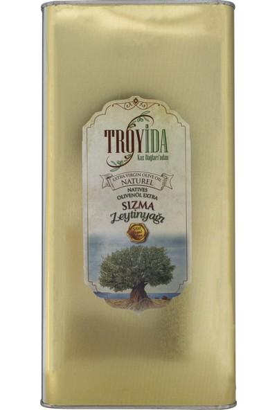 Troyida Naturel Sızma Zeytinyağı Teneke 5 Lt