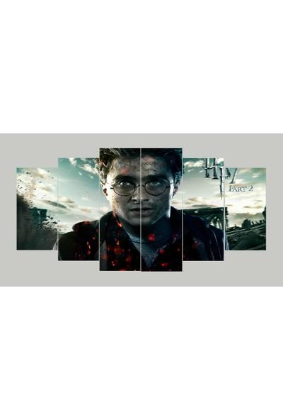 Renk Vagonu Harry Potter 6 Parça Mdf Tablo
