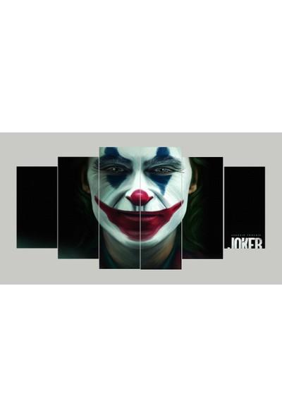 Renk Vagonu Joker 6 Parça Mdf Tablo