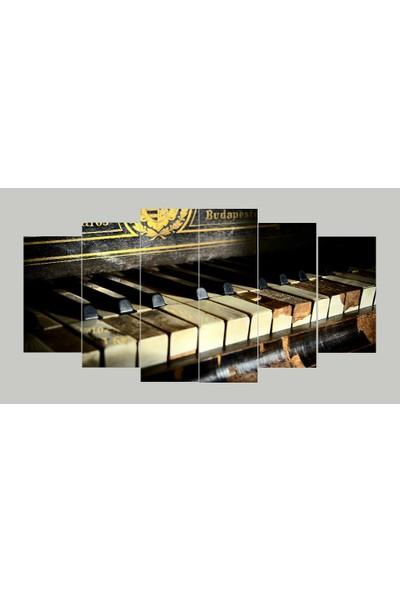 Renk Vagonu Piyano 6 Parça Mdf Tablo