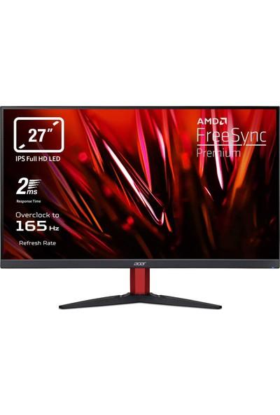 "Acer Nitro KG272S Zeroframe 27"" 165Hz 2ms (2xhdmı+Display) Freesync Premium Full Hd IPS LED Monitör UM.HX2EE.S01"