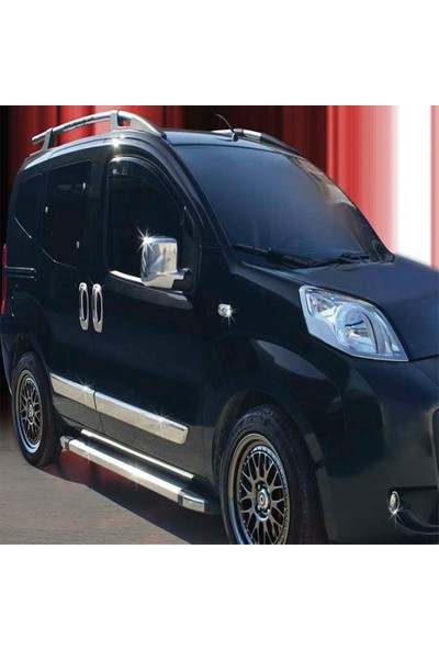Blueoto Fiat Fiorino Kapı Kolu Krom ( 2008-2019 ) Paslanmaz Çelik 8 Parça