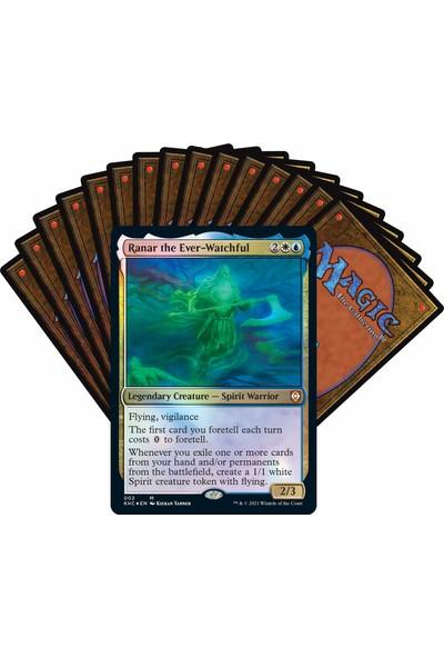 Magic The Gathering Kaldheim Commander Destesi Phantom Premonition 100 Kart