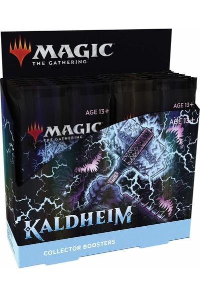 Magic The Gathering Kaldheim Kollektör Güçlendirici Kutusu | 12 Paket (180 Magic Kart)