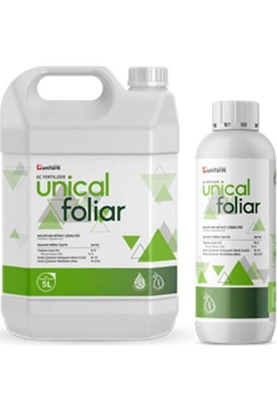 Unifarm Unical Foliar N %9; Cao %10; Mo %0,05 1 Lt