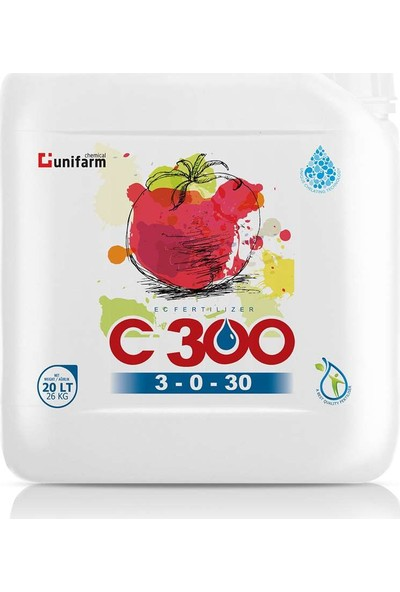 Unifarm C 300 3.0.30 + 2mgo 20 Lt