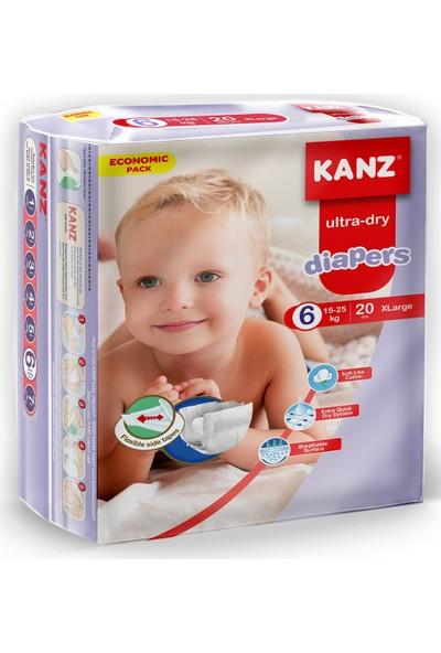 Kanz Ekonomik Paket Bebek Bezi- Xlarge 15 - 25 kg
