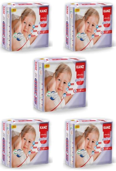 Kanz Mega Paket Bebek Bezi- Junior 11 - 25 kg Koli 5 Li